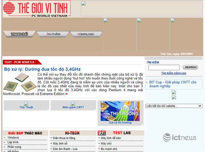 Giao diện của các website, diễn đàn vang bóng một thời tại Việt Nam - Ảnh 8.