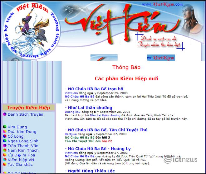Giao diện của các website, diễn đàn vang bóng một thời tại Việt Nam - Ảnh 10.