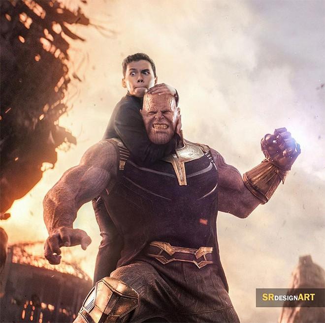 Anh designer tự photoshop bản thân vào chung ảnh với các ngôi sao nổi tiếng cực chân thật, từ Avengers cho đến John Wick không trượt bức nào - Ảnh 2.