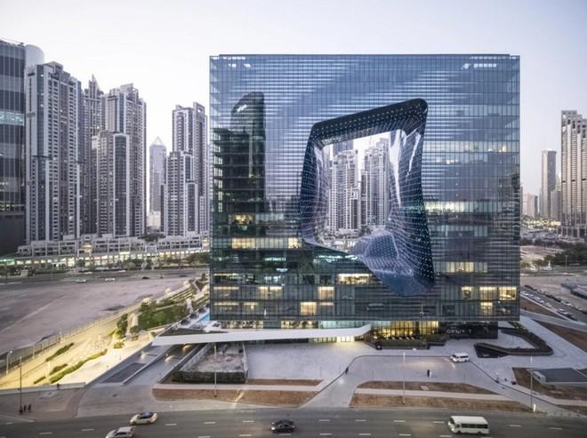 Ngắm nhìn các tòa nhà đẹp và có kiến trúc xuất sắc nhất năm 2020 - Ảnh 1.