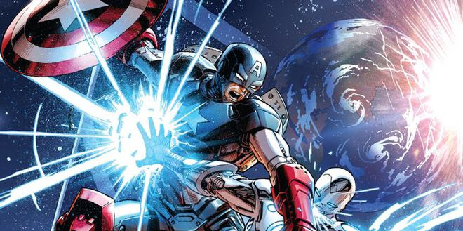 Tại sao Steve Rogers phải mặc áo giáp do Iron Man chế tạo vào những năm 1990? - Ảnh 3.