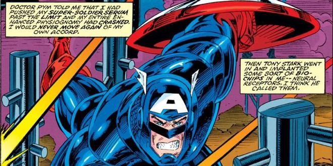 Tại sao Steve Rogers phải mặc áo giáp do Iron Man chế tạo vào những năm 1990? - Ảnh 2.
