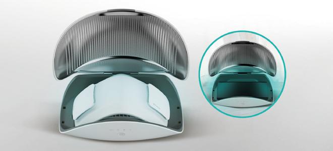LG ra mắt khẩu trang lọc khí PuriCare: Lọc được cả bụi mịn và virus, tích hợp quạt gió, pin 8 giờ, giá 3.5 triệu đồng - Ảnh 2.