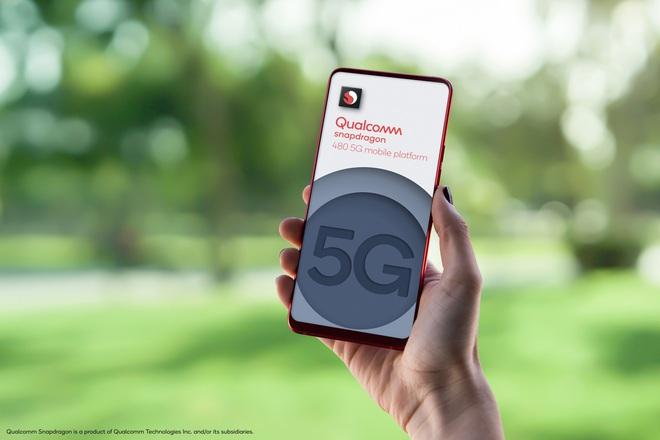 Qualcomm ra mắt Snapdragon 480: Tích hợp 5G dành cho smartphone giá rẻ - Ảnh 1.