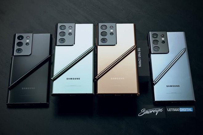 Đây có thể là thiết kế của Samsung Galaxy Note21 Ultra - Ảnh 1.
