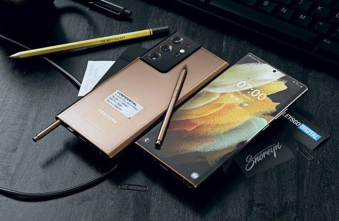 Đây có thể là thiết kế của Samsung Galaxy Note21 Ultra - Ảnh 2.