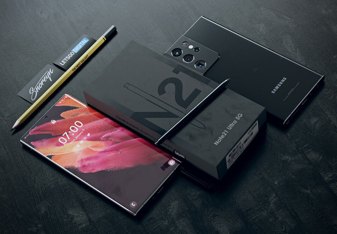 Đây có thể là thiết kế của Samsung Galaxy Note21 Ultra - Ảnh 4.