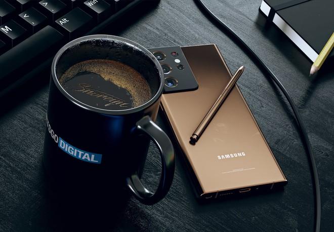 Đây có thể là thiết kế của Samsung Galaxy Note21 Ultra - Ảnh 3.