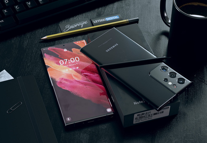 Đây có thể là thiết kế của Samsung Galaxy Note21 Ultra - Ảnh 5.