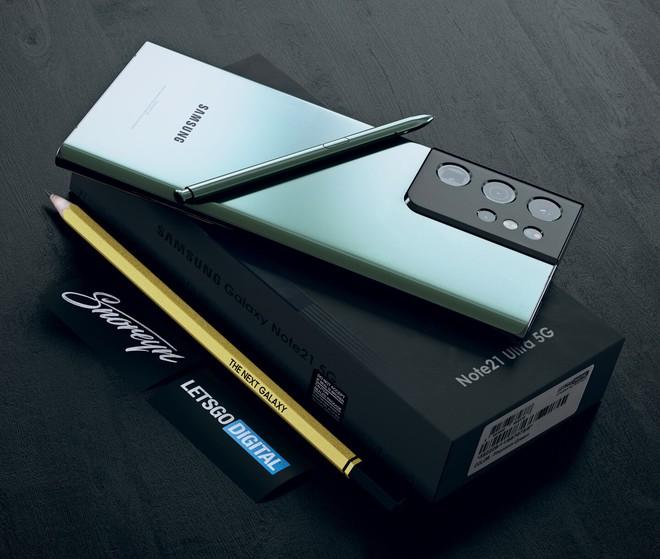 Đây có thể là thiết kế của Samsung Galaxy Note21 Ultra - Ảnh 7.