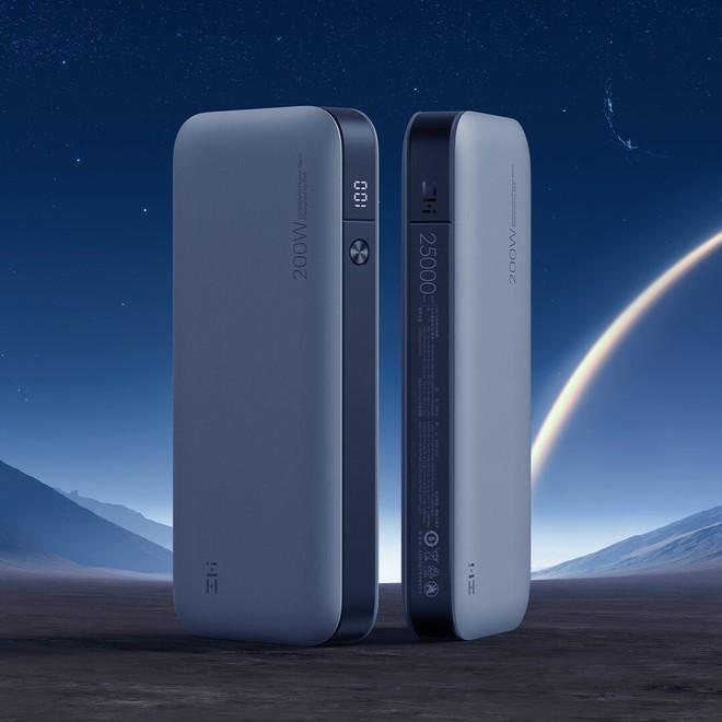 Xiaomi ra mắt sạc dự phòng 25000mAh, công suất 200W, sạc được laptop, giá 1.4 triệu đồng - Ảnh 1.
