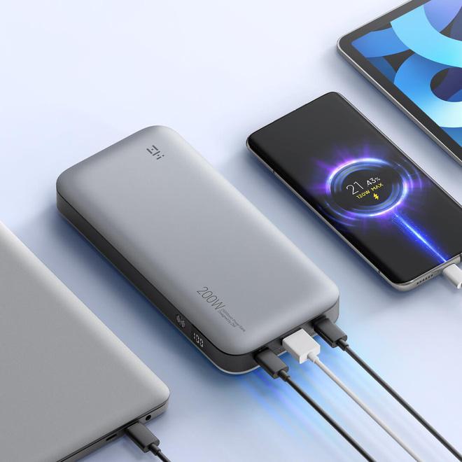 Xiaomi ra mắt sạc dự phòng 25000mAh, công suất 200W, sạc được laptop, giá 1.4 triệu đồng - Ảnh 4.