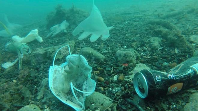 Hơn 1,5 tỷ chiếc khẩu trang y tế đã bị vứt xuống biển từ đầu đại dịch COVID-19, và chúng cần 450 năm nữa mới có thể phân hủy - Ảnh 3.