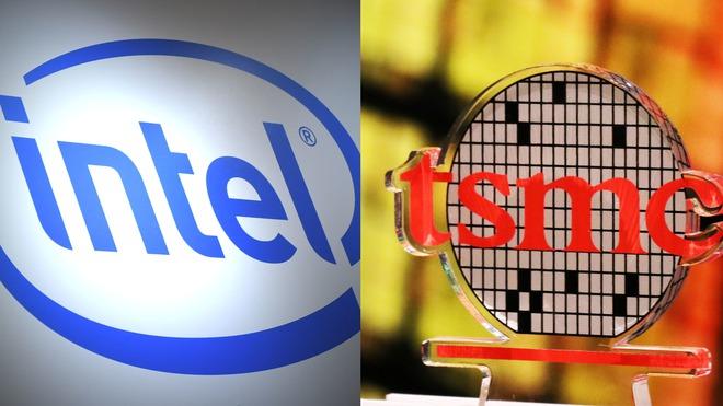 Bị đối thủ bỏ lại quá xa, Intel quyết thuê TSMC và Samsung gia công chip - Ảnh 1.