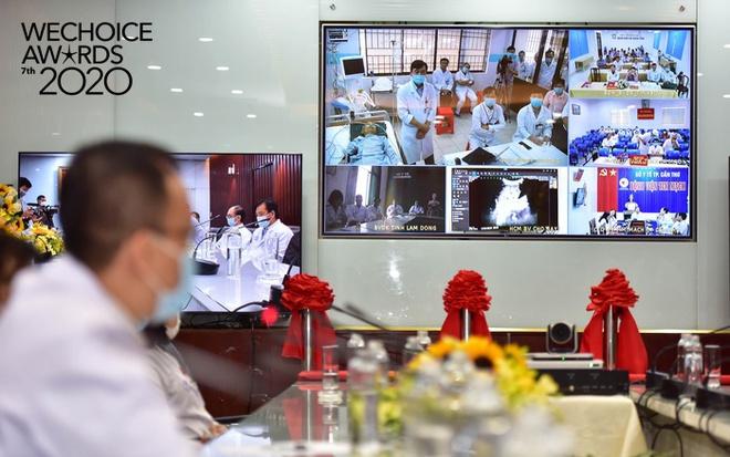 Telehealth - Cánh tay nối dài diệu kỳ giúp bác sĩ Việt Nam phẫu thuật cho bệnh nhân từ khoảng cách hàng trăm km lọt top đề cử WeChoice Awards 2020 - Ảnh 4.