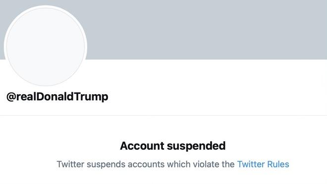 Twitter của Tổng thống Donald Trump bị khóa vĩnh viễn - Ảnh 1.