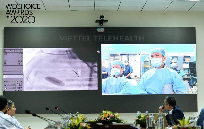 Telehealth - Cánh tay nối dài diệu kỳ giúp bác sĩ Việt Nam phẫu thuật cho bệnh nhân từ khoảng cách hàng trăm km lọt top đề cử WeChoice Awards 2020 - Ảnh 1.