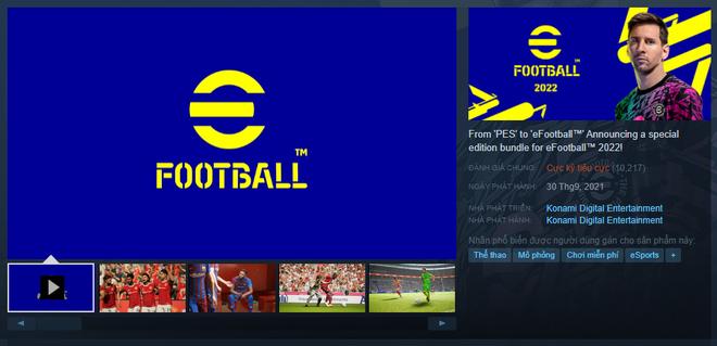 eFootball 2022, hậu bối của game bóng đá đã bị khai tử PES, trở thành game có đánh giá tệ nhất lịch sử Steam - Ảnh 2.