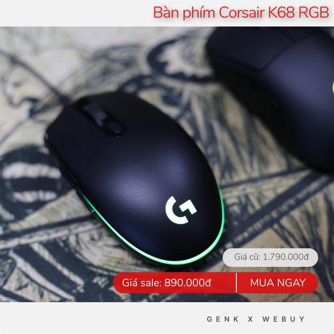 """Săn ngay các loại chuột bàn phím đang được sale đẫm, vừa tăng hiệu quả làm việc vừa giúp game thủ """"leo rank"""" ầm ầm - Ảnh 6."""