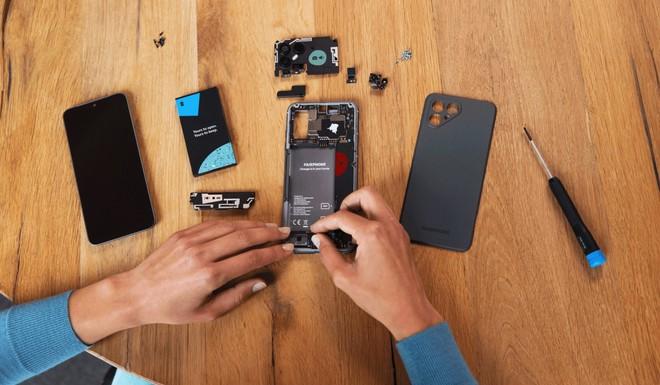Ra mắt smartphone thiết kế dạng module dễ sửa chữa, làm bằng vật liệu tái chế, giá 15.3 triệu đồng - Ảnh 2.