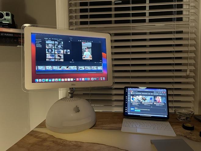 Lập trình viên độ thành công chip Apple M1 vào bên trong chiếc iMac G4 20 năm tuổi - Ảnh 1.