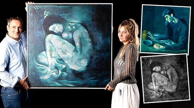 Dùng AI và in 3D, phát hiện báu vật ẩn giấu gần 120 năm bên dưới kiệt tác của Picasso - Ảnh 2.