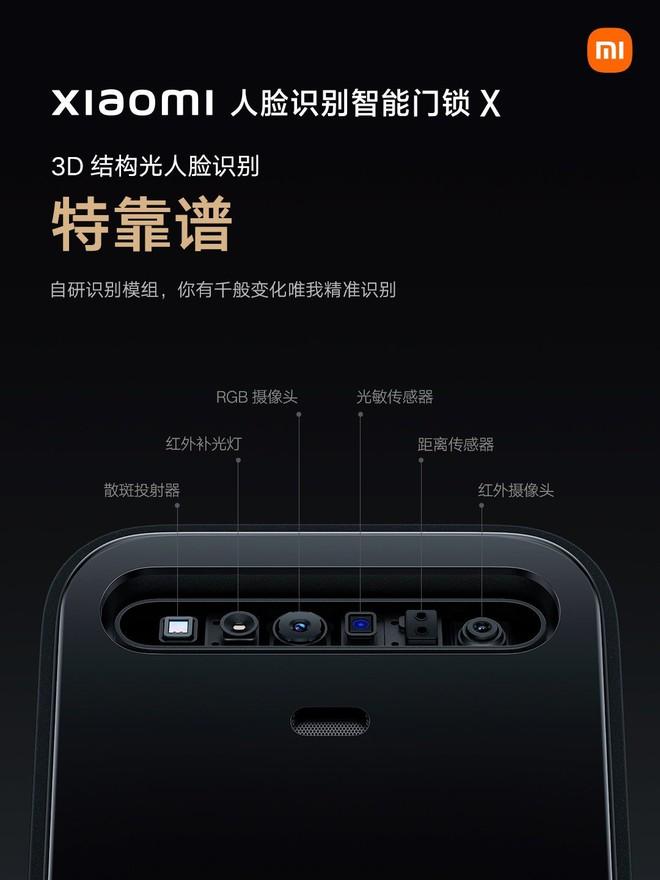Xiaomi ra mắt khoá cửa thông minh hỗ trợ nhận diện khuôn mặt 3D - Ảnh 2.