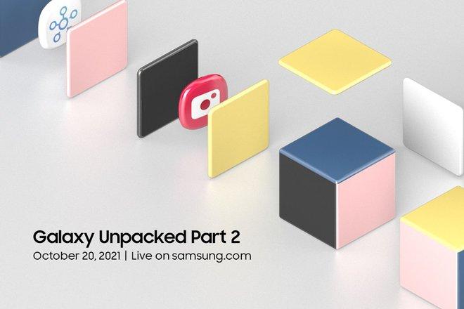 Samsung công bố sự kiện Unpacked 2 sẽ diễn ra vào ngày 20 tháng 10 - Ảnh 1.
