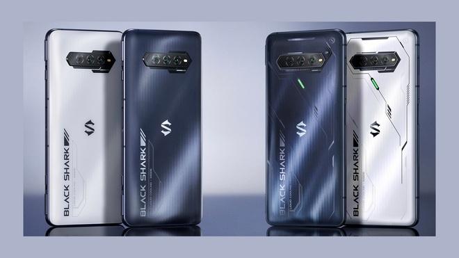 Black Shark 4S series ra mắt: Snapdragon 888+, màn hình 144Hz cảm ứng lực, sạc nhanh 120W, giá từ 9.5 triệu đồng - Ảnh 1.