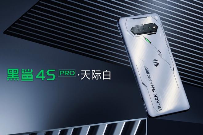 Black Shark 4S series ra mắt: Snapdragon 888+, màn hình 144Hz cảm ứng lực, sạc nhanh 120W, giá từ 9.5 triệu đồng - Ảnh 4.