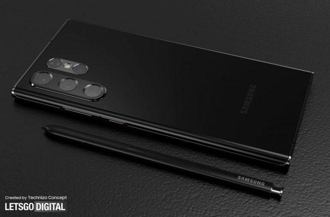 Ảnh thiết kế Galaxy S22 Ultra với bút S Pen: Thế này thì cần gì Galaxy Note - Ảnh 3.