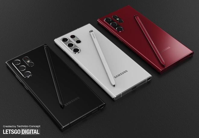 Ảnh thiết kế Galaxy S22 Ultra với bút S Pen: Thế này thì cần gì Galaxy Note - Ảnh 4.