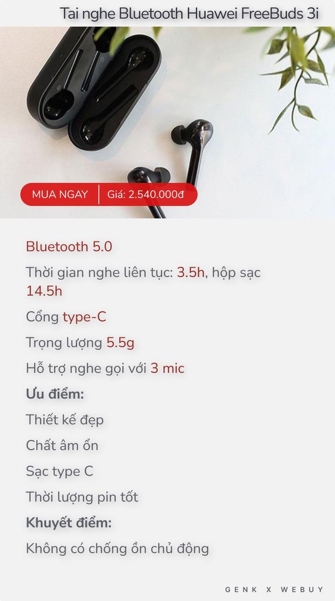 Gợi ý 5 tai nghe bluetooth không dây khoảng 2 triệu chất lượng, hỗ trợ tốt khi làm việc, học online hay giải trí - Ảnh 5.