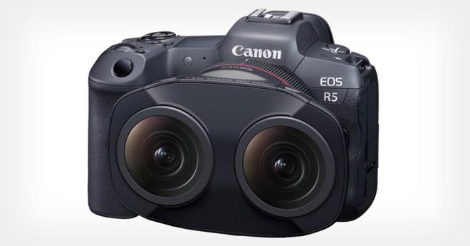Canon ra mắt RF 5.2mm f/2.8 L Dual Fisheye: Một ống kính với 2 mắt phục vụ cho việc quay VR - Ảnh 1.