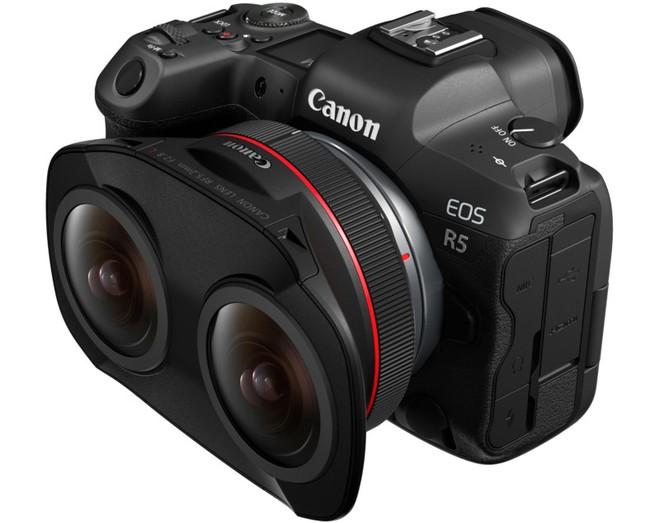 Canon ra mắt RF 5.2mm f/2.8 L Dual Fisheye: Một ống kính với 2 mắt phục vụ cho việc quay VR - Ảnh 2.