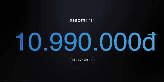 Xiaomi 11T series 5G ra mắt tại VN: Màn hình AMOLED 120Hz, camera nâng cấp chất lượng, sạc nhanh 120W, giá từ 10.9 triệu đồng - Ảnh 7.