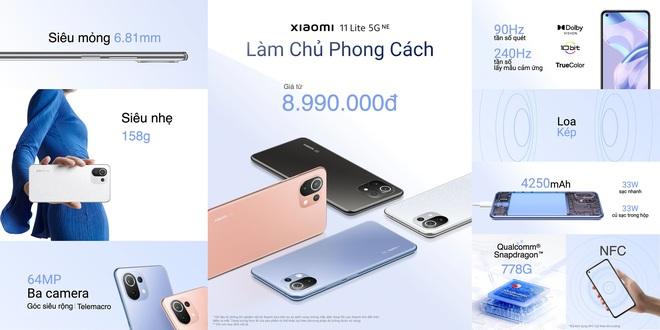 Xiaomi 11T series 5G ra mắt tại VN: Màn hình AMOLED 120Hz, camera nâng cấp chất lượng, sạc nhanh 120W, giá từ 10.9 triệu đồng - Ảnh 9.
