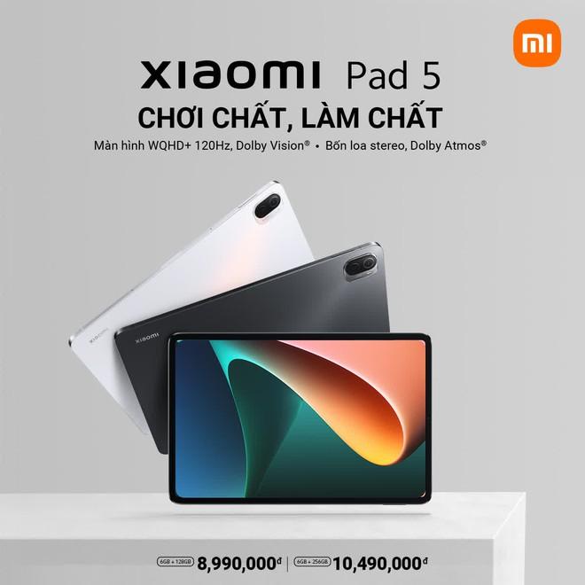 Xiaomi Pad 5 ra mắt tại VN: Thiết kế cao cấp giống iPad Pro, Snapdragon 860, giá chỉ từ 8.9 triệu đồng - Ảnh 4.