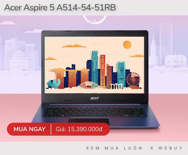 Từ 15 triệu đã có 5 laptop chạy Core i5 11th, RAM 8GB mạnh mẽ, dùng văn phòng hay chơi game nhẹ nhàng đều mượt êm - Ảnh 2.