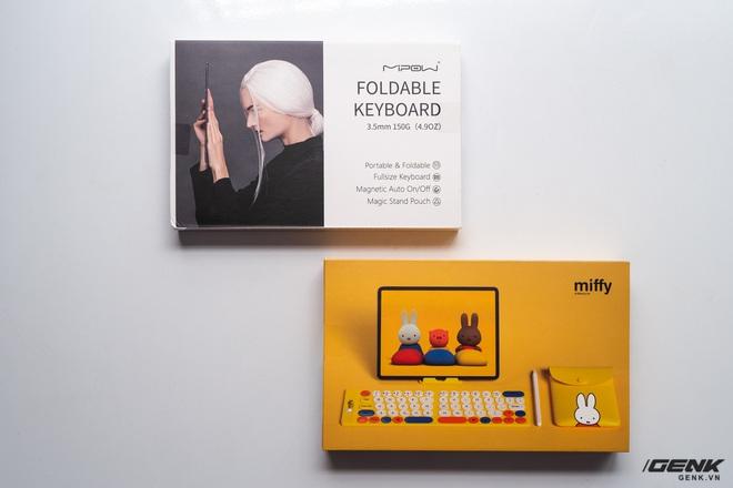 Trải nghiệm nhanh bàn phím gập MiPOW Mini Slim-Fold mỏng nhất thế giới: Gõ chưa đã tay nhưng bù lại gấp gọn như cuốn sổ rất đẹp - Ảnh 1.