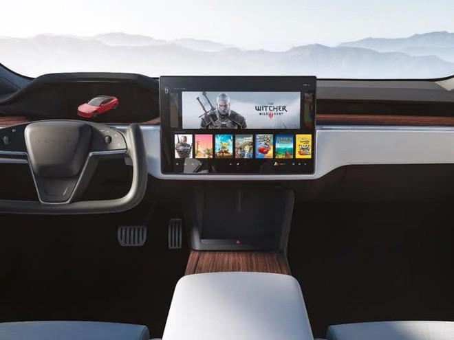 Hệ máy chơi game trên xe điện Tesla mạnh ngang ngửa Xbox và PlayStation thế hệ mới - Ảnh 1.