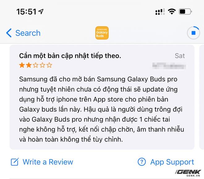 Tai nghe Galaxy Buds Pro xài rất ổn nhưng người dùng iOS thì lại đang khóc ròng - Ảnh 4.