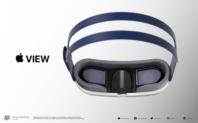 Đây là kính thực tế của Apple: Thiết kế dạng mô-đun như AirPods Max, 2 màn hình 8K, công nghệ theo dõi chuyển động mắt... - Ảnh 5.
