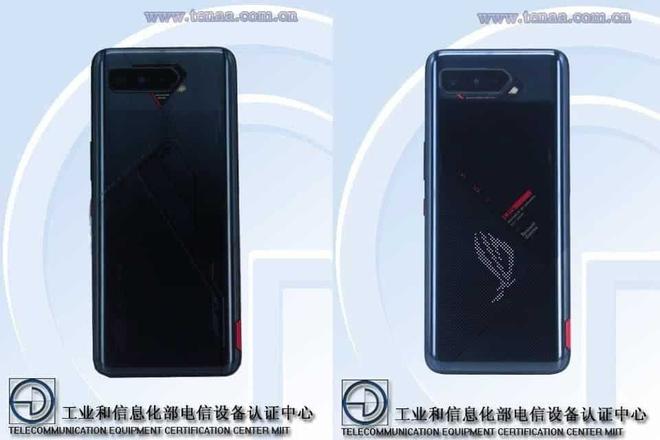 ROG Phone 5 lộ diện với màn hình phụ sau lưng - Ảnh 1.