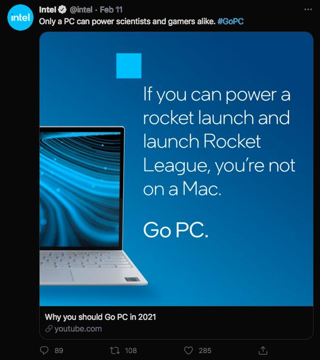 Intel chê MacBook M1 không hỗ trợ cảm ứng, không chơi được Rocket League - Ảnh 3.
