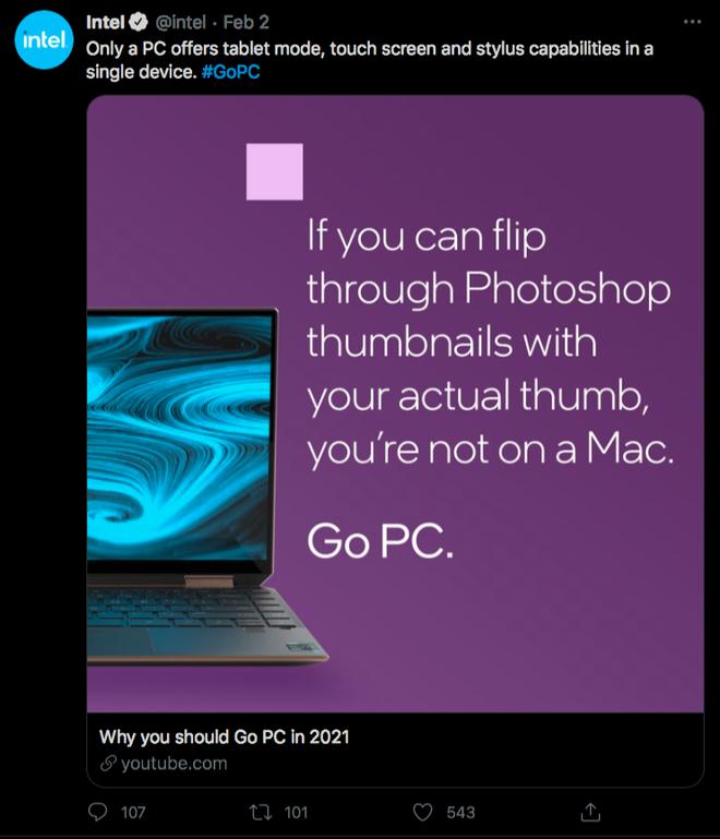 Intel chê MacBook M1 không hỗ trợ cảm ứng, không chơi được Rocket League - Ảnh 2.