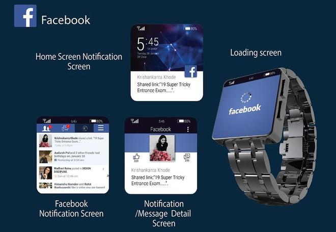 Facebook đang phát triển một mẫu smartwatch chạy hệ điều hành Android - Ảnh 1.