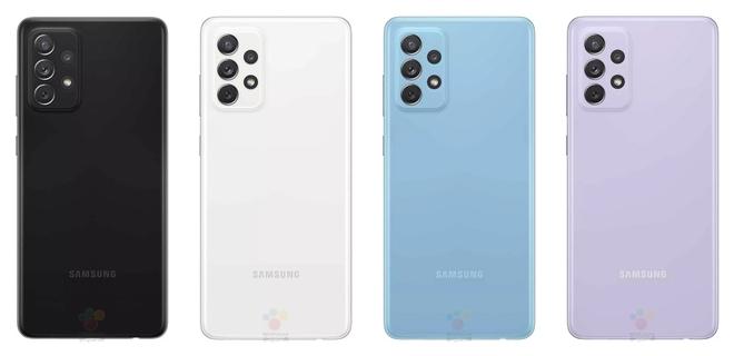 Galaxy A72 4G lộ diện: Thiết kế trẻ trung với nhiều tuỳ chọn màu sắc, Snapdragon 720G, giá khoảng 12.5 triệu đồng - Ảnh 3.