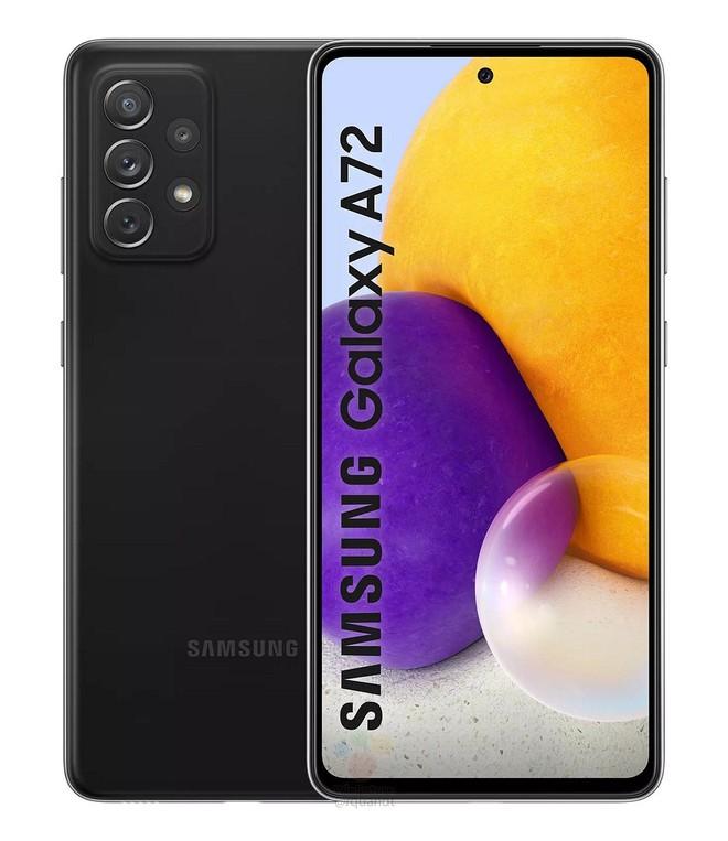 Galaxy A72 4G lộ diện: Thiết kế trẻ trung với nhiều tuỳ chọn màu sắc, Snapdragon 720G, giá khoảng 12.5 triệu đồng - Ảnh 1.