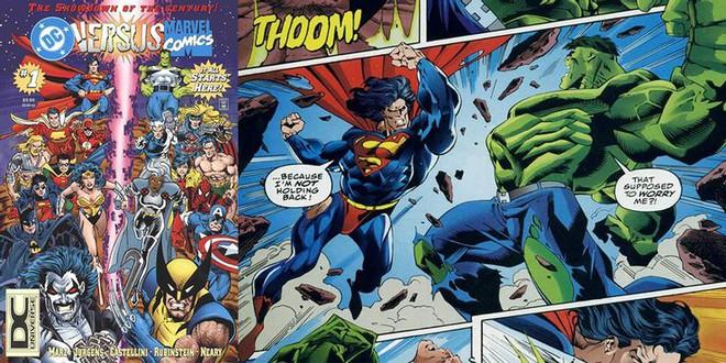 Những lần hợp tác khiến fan đứng ngồi không yên giữa cặp đối thủ không đội trời chung DC - Marvel - Ảnh 1.